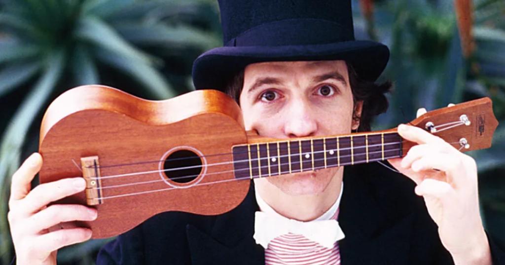 l'ukulele di Rino Gaetano