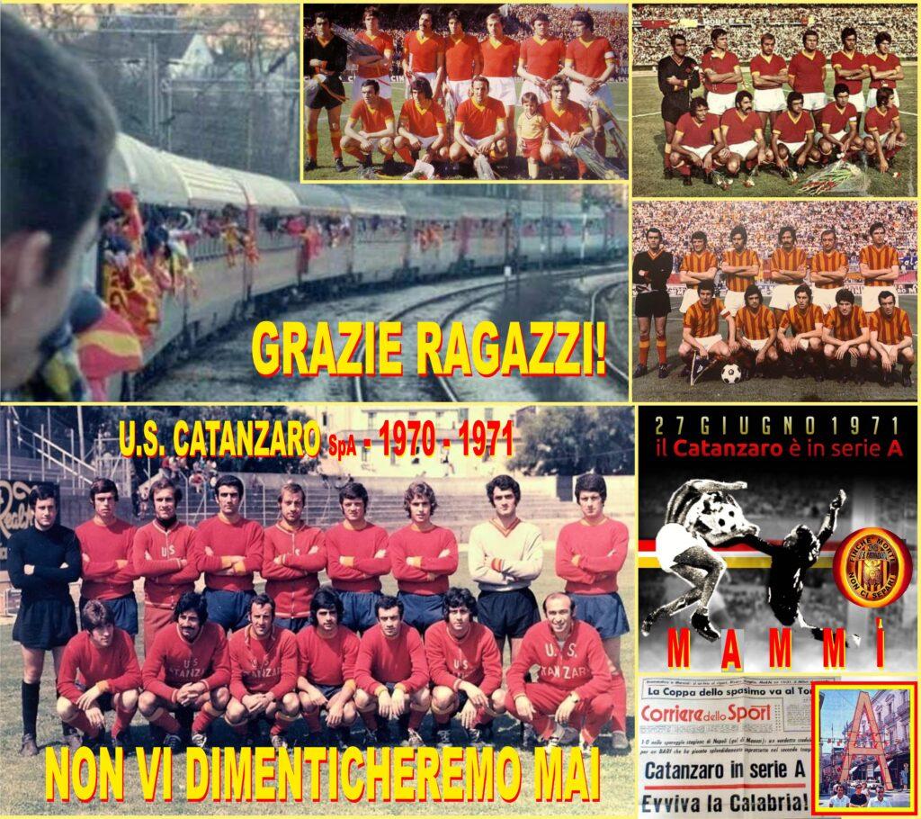 1971-2021: 50 anni fa l'U.S. Catanzaro conquistava la serie A e portava la  Calabria tutta nell'Olimpo del Calcio Nazionale. Un libro scritto da  Riccardo Colao e Rino Rubino ne celebra l'impresa –